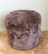 OVAL pouf - Taupe